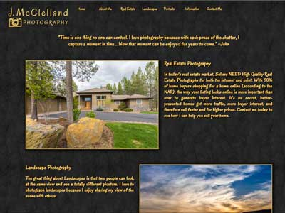 J. McClelland Photography in Central Oregon